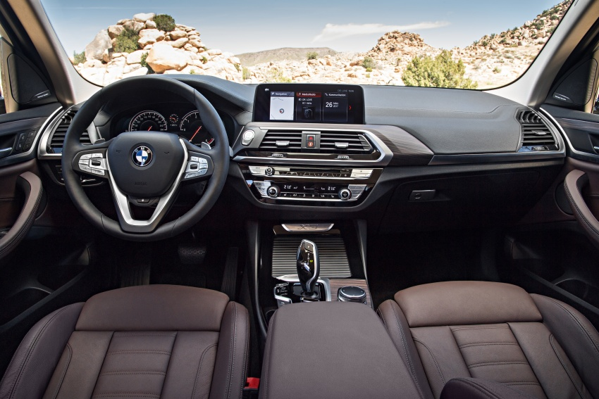 G01 BMW X3 unveiled – new engines, tech, M40i model Image #677029
