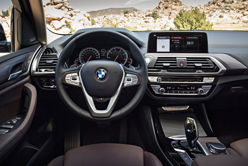 G01 BMW X3 unveiled – new engines, tech, M40i model Image #677030