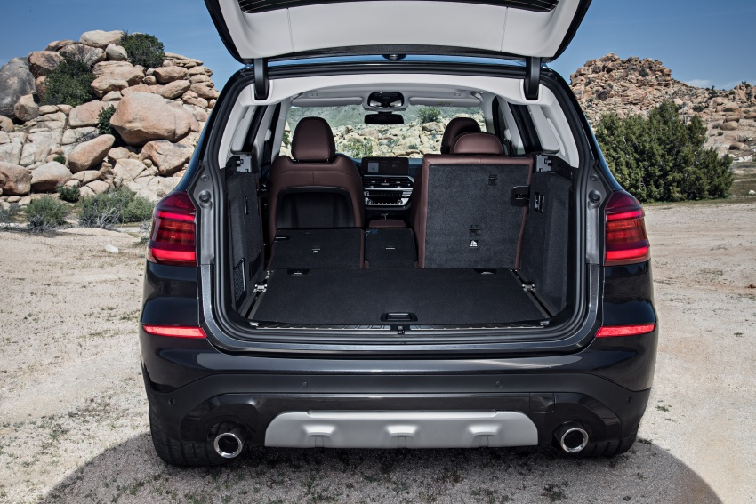 G01 BMW X3 unveiled – new engines, tech, M40i model Image #677040