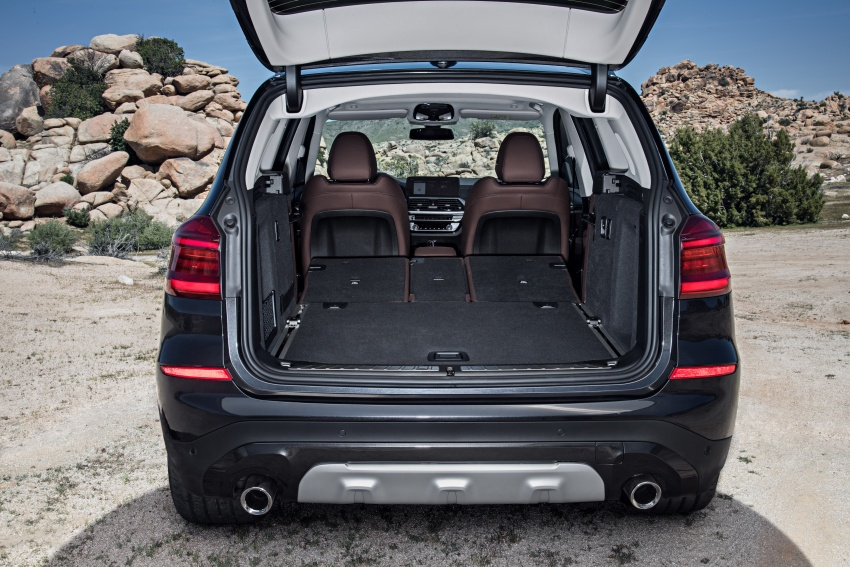 G01 BMW X3 unveiled – new engines, tech, M40i model Image #677041