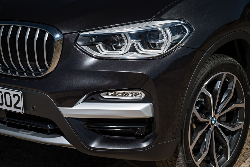 G01 BMW X3 unveiled – new engines, tech, M40i model Image #677048