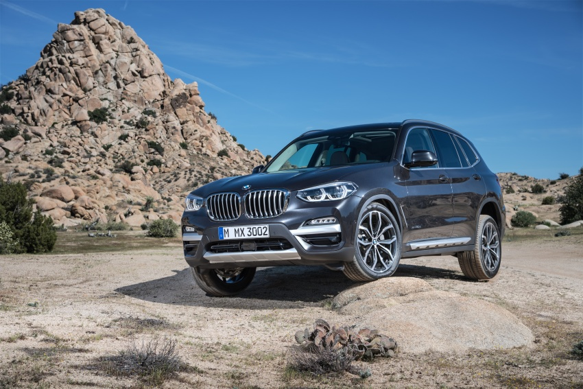 G01 BMW X3 unveiled – new engines, tech, M40i model Image #677052