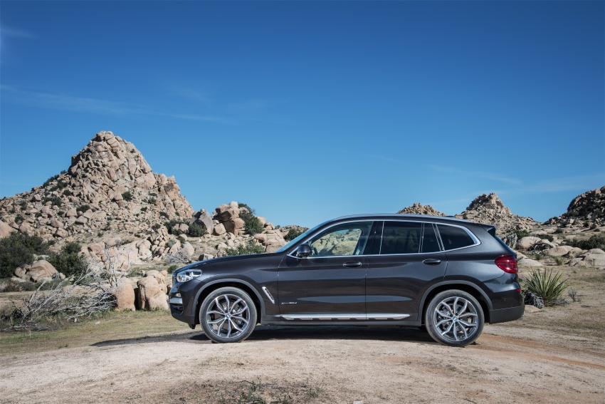 G01 BMW X3 unveiled – new engines, tech, M40i model Image #677055