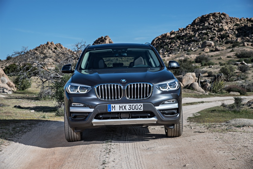 G01 BMW X3 unveiled – new engines, tech, M40i model Image #677058