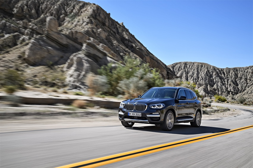 G01 BMW X3 unveiled – new engines, tech, M40i model Image #677069
