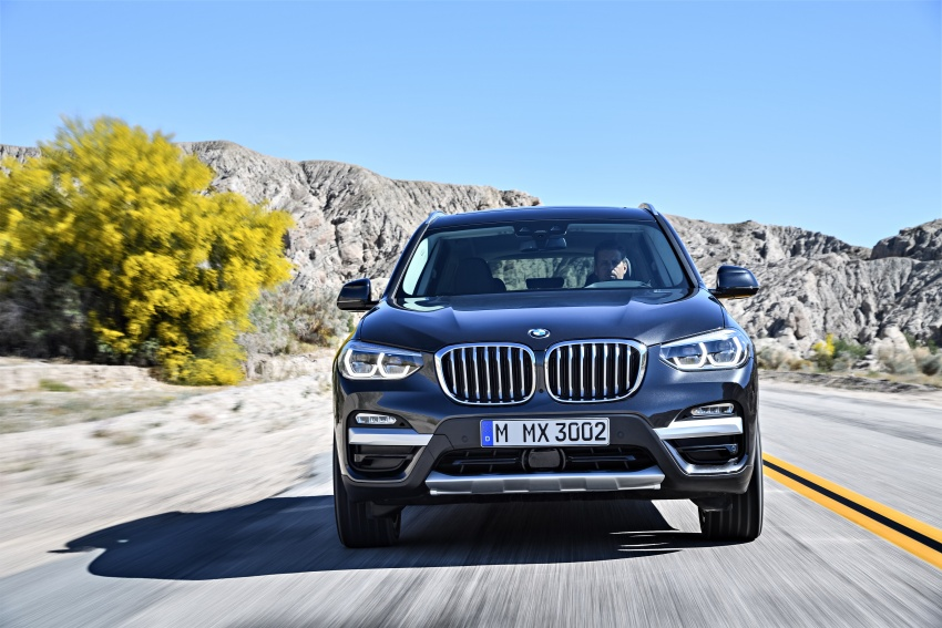 G01 BMW X3 unveiled – new engines, tech, M40i model Image #677070