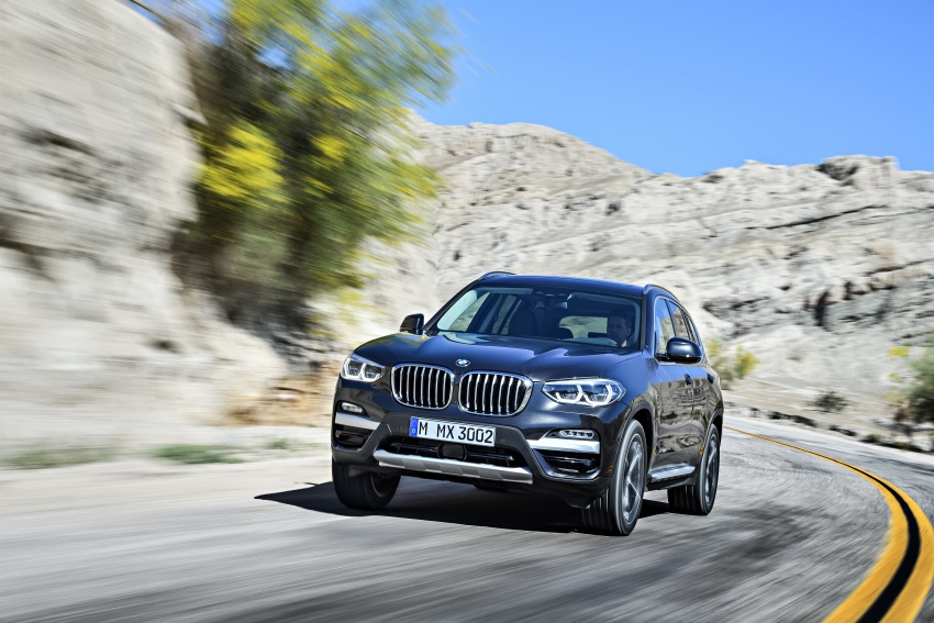 G01 BMW X3 unveiled – new engines, tech, M40i model Image #677071