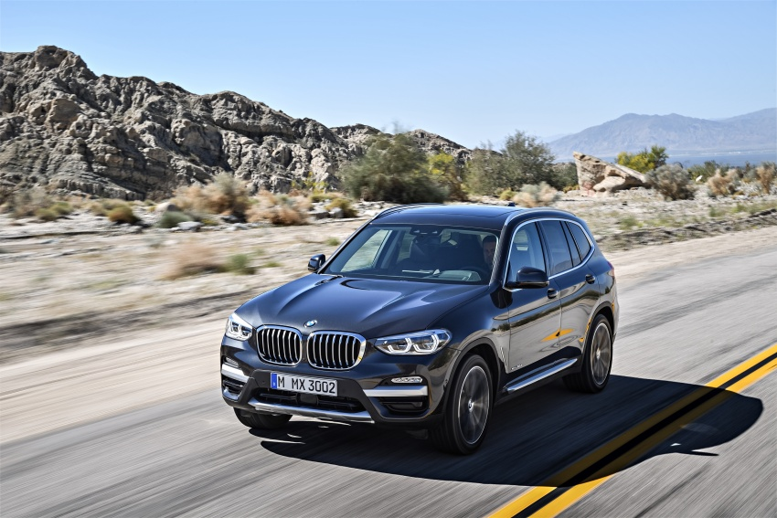 G01 BMW X3 unveiled – new engines, tech, M40i model Image #677074