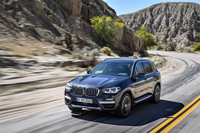 G01 BMW X3 unveiled – new engines, tech, M40i model Image #677076