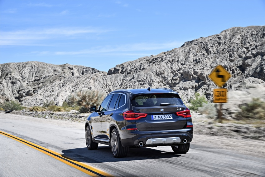 G01 BMW X3 unveiled – new engines, tech, M40i model Image #677077