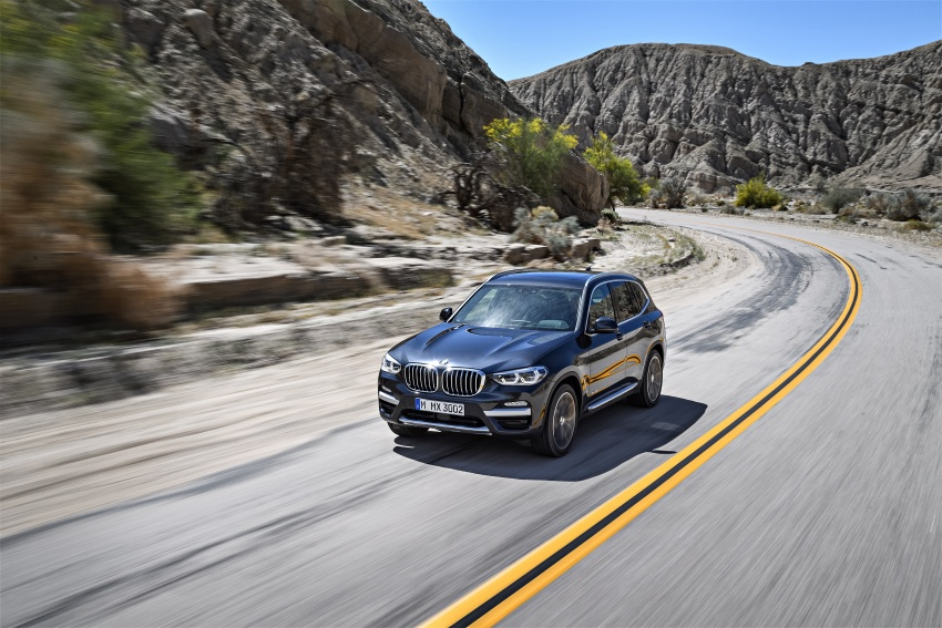 G01 BMW X3 unveiled – new engines, tech, M40i model Image #677078