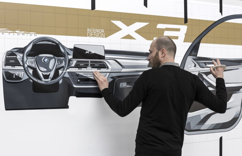 G01 BMW X3 unveiled – new engines, tech, M40i model Image #677089