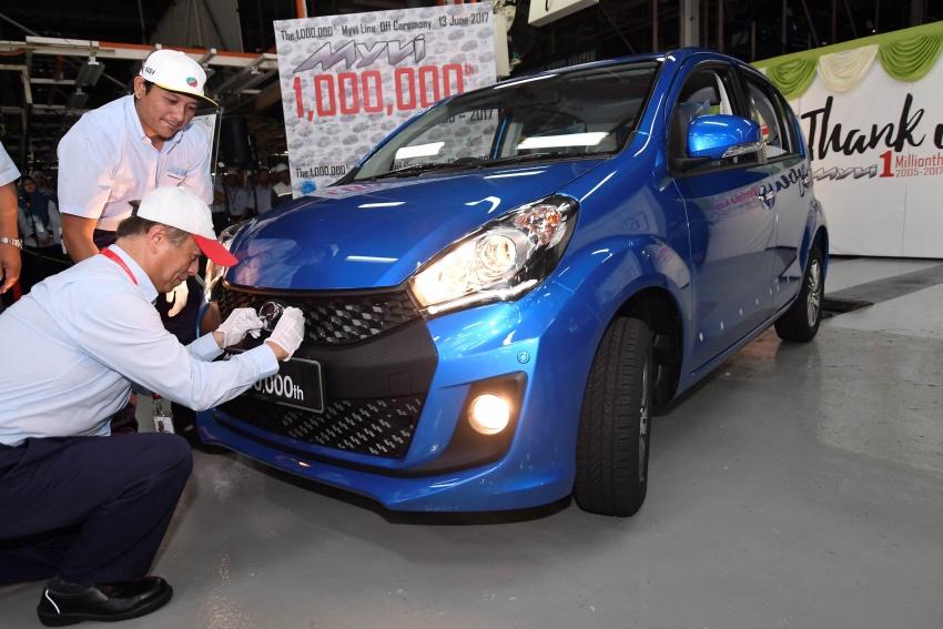 Perodua Myvi reaches one million unit milestone Image #672029