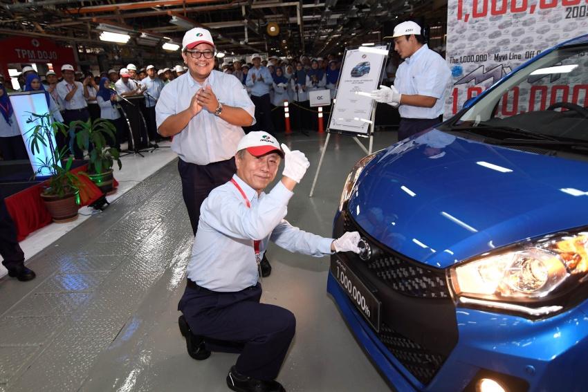 Perodua Myvi reaches one million unit milestone Image #672030
