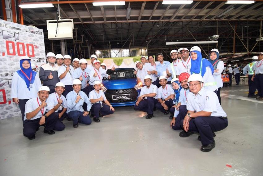 Perodua Myvi reaches one million unit milestone Image #672031