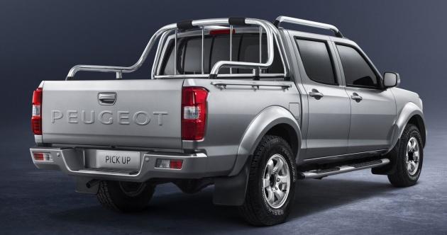 peugeot pick up a robust workhorse truck for africa. Black Bedroom Furniture Sets. Home Design Ideas
