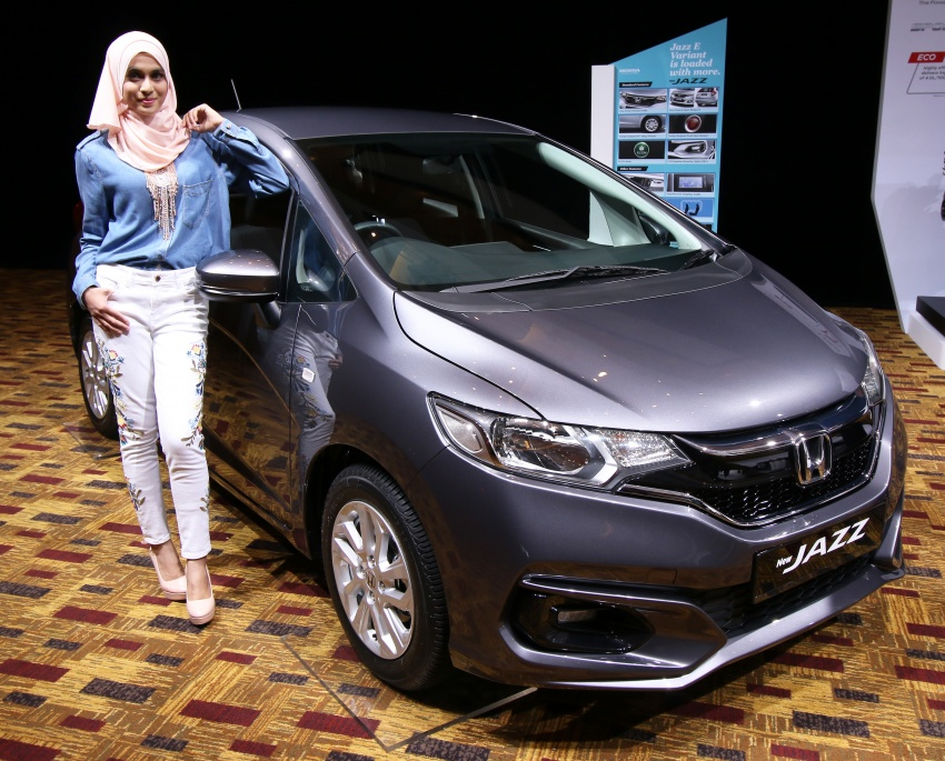 2017 Honda Jazz facelift launched in Malaysia – 1.5L and Sport Hybrid i-DCD variants, from RM74,800 Image #669844