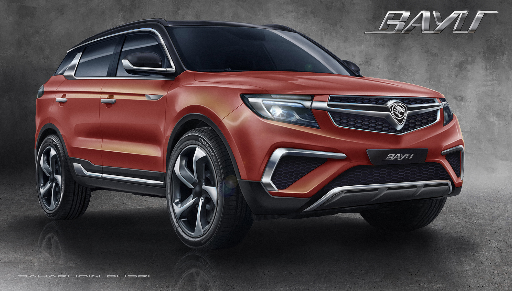 proton new car releaseProton Bayu  a Geelybased SUV design by MIMOS
