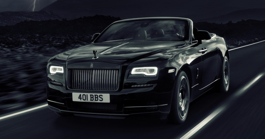 Rolls-Royce Dawn Black Badge – for younger patrons Image #677659