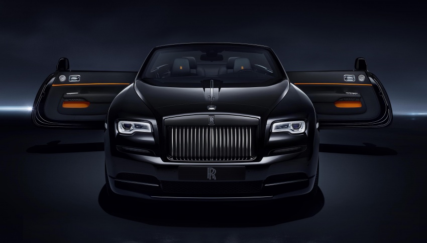 Rolls-Royce Dawn Black Badge – for younger patrons Image #677674