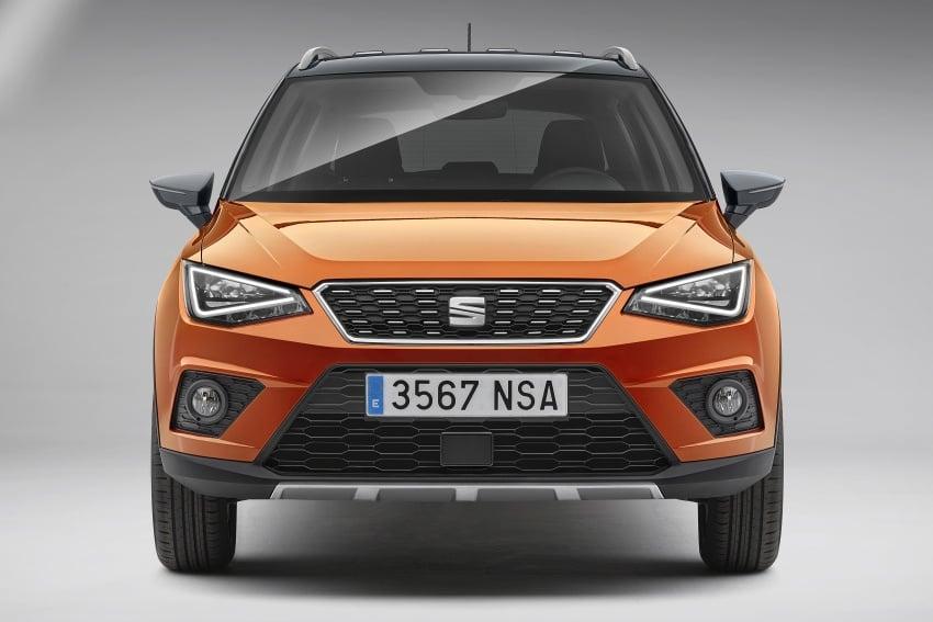 SEAT Arona: Ibiza-based B-segment crossover shown Image #677483