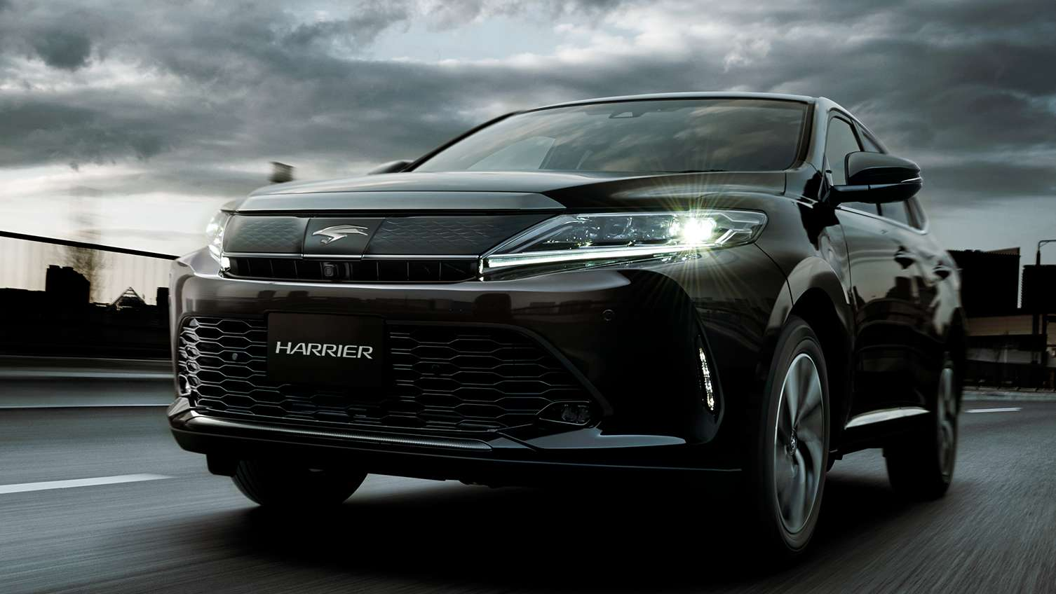 toyota harrier facelift makes japan debut - 2.0 turbo; singapore