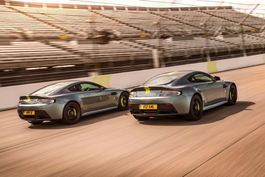 Aston Martin Vantage AMR: production models shown Image #672823