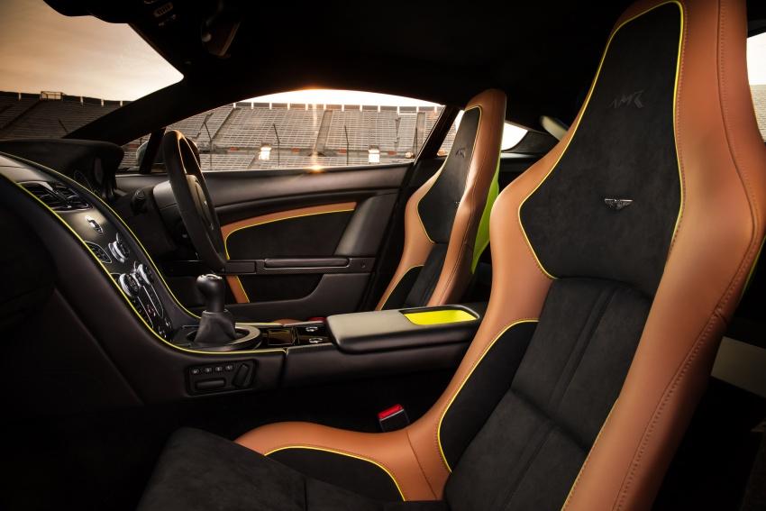 Aston Martin Vantage AMR: production models shown Image #672853