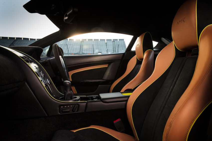 Aston Martin Vantage AMR: production models shown Image #672840
