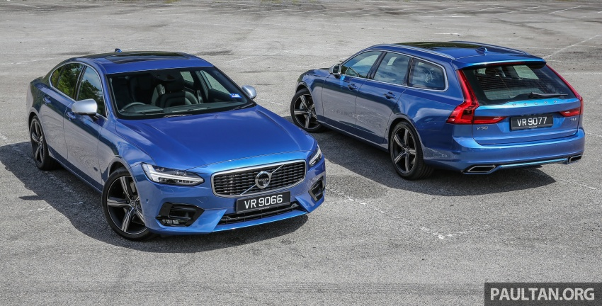 DRIVEN: Volvo V90 T6 AWD – looks above all else? Image #672626