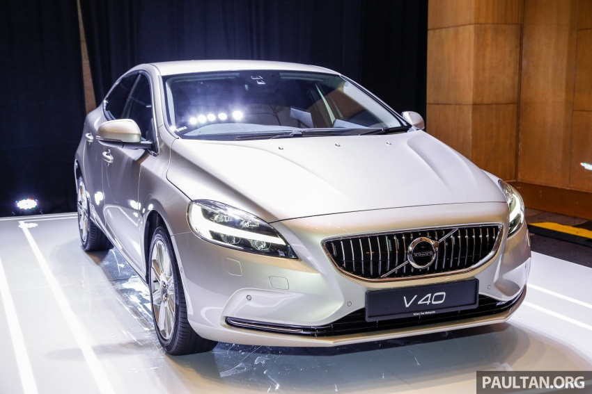 Volvo V40 facelift launched in Malaysia – T5 Inscription priced at RM180,888; T4 to be introduced at later date Image #674435