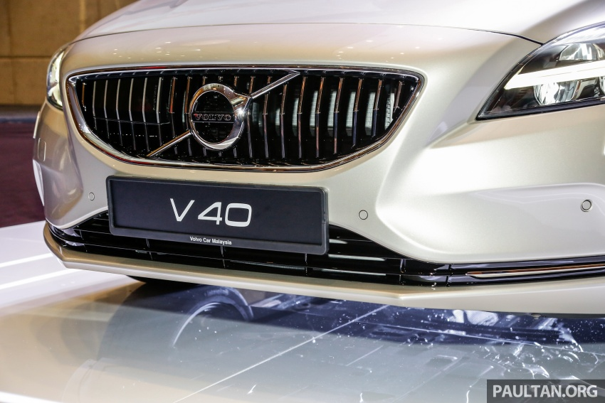 Volvo V40 facelift launched in Malaysia – T5 Inscription priced at RM180,888; T4 to be introduced at later date Image #674445