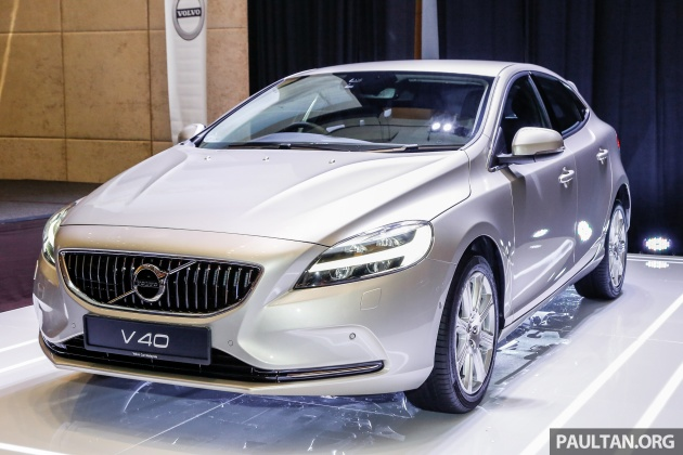 volvo v40 facelift launched in malaysia t5 inscription priced at rm180 888 t4 to be. Black Bedroom Furniture Sets. Home Design Ideas