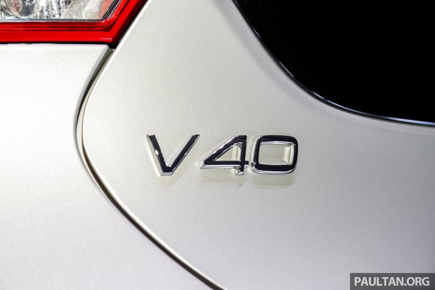 Volvo V40 T5 Inscription facelift 2017 untuk pasaran Malaysia dilancarkan – harga bermula dari RM181k Image #674492