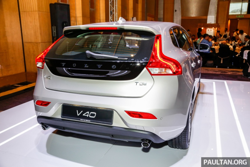 Volvo V40 facelift launched in Malaysia – T5 Inscription priced at RM180,888; T4 to be introduced at later date Image #674437