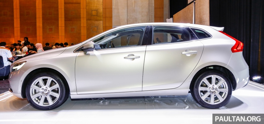 Volvo V40 facelift launched in Malaysia – T5 Inscription priced at RM180,888; T4 to be introduced at later date Image #674441