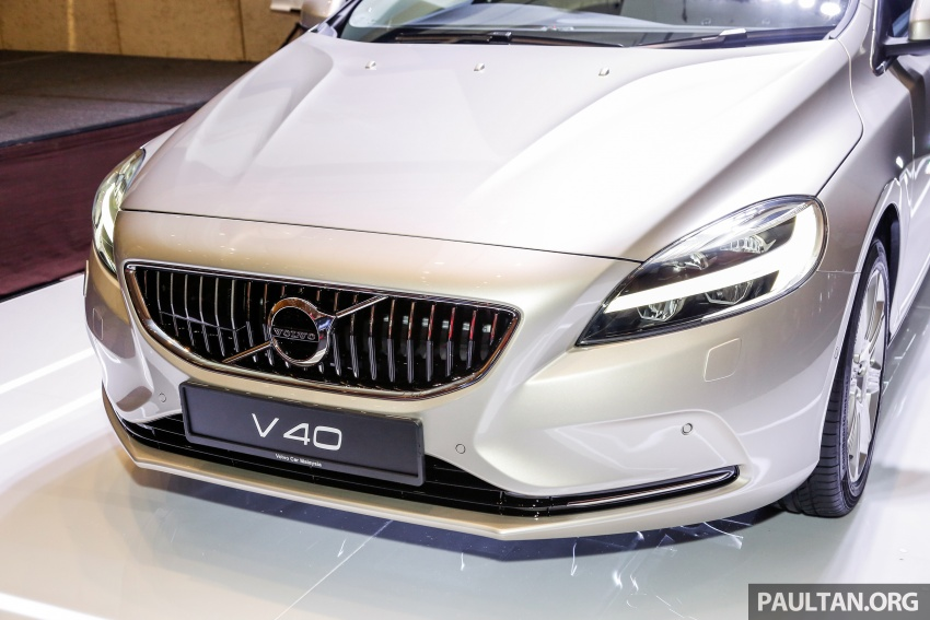 Volvo V40 facelift launched in Malaysia – T5 Inscription priced at RM180,888; T4 to be introduced at later date Image #674442