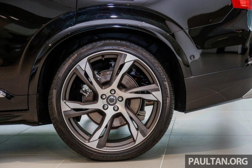 2017 Volvo XC90 accessories detailed, incl 22-inchers Image #668255
