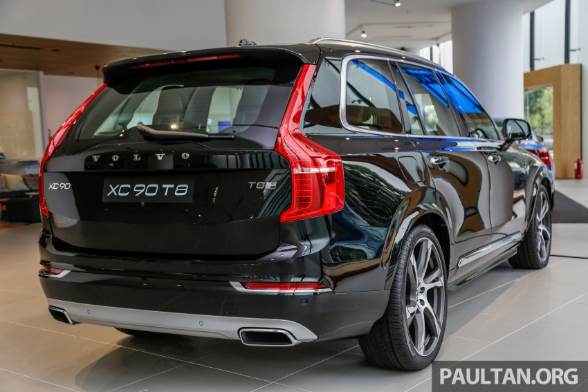 2017 Volvo XC90 accessories detailed, incl 22-inchers Image #668235