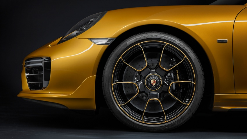 Porsche 911 Turbo S Exclusive – limited to 500 units Image #674102