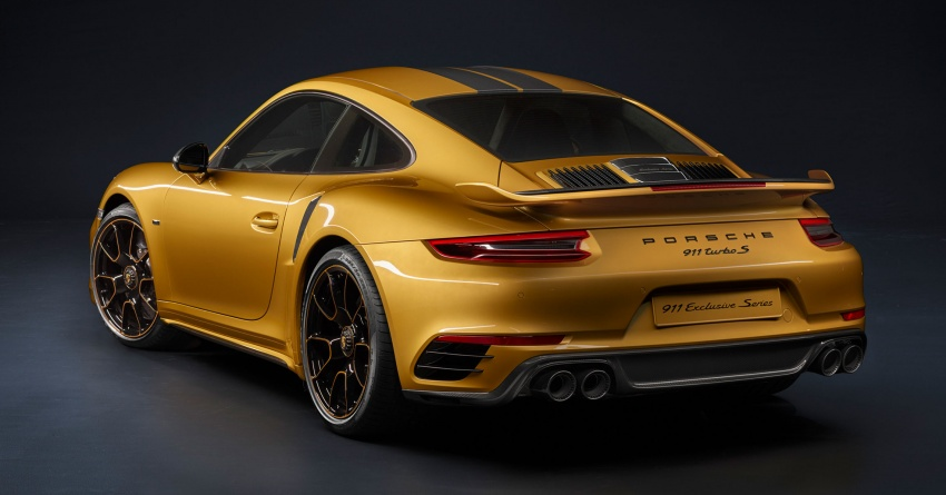 Porsche 911 Turbo S Exclusive – limited to 500 units Image #674094
