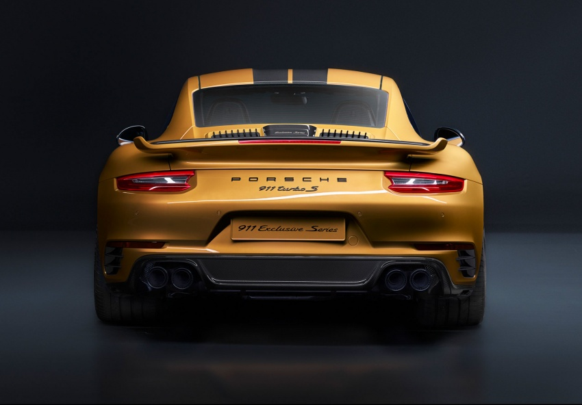 Porsche 911 Turbo S Exclusive – limited to 500 units Image #674095