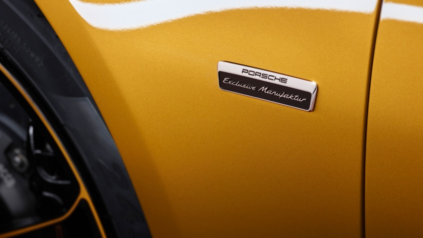 Porsche 911 Turbo S Exclusive – limited to 500 units Image #674100