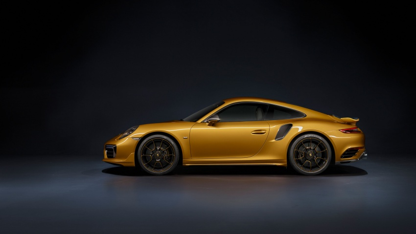 Porsche 911 Turbo S Exclusive – limited to 500 units Image #674106