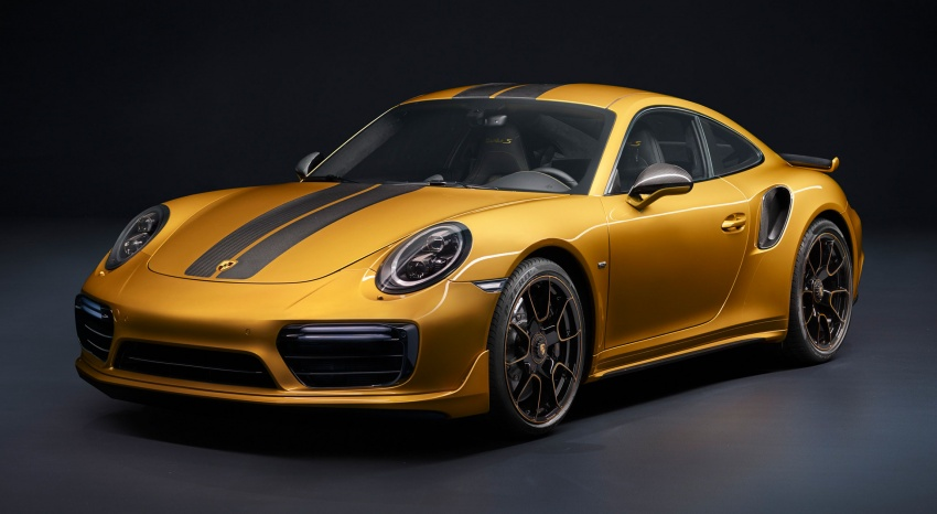 Porsche 911 Turbo S Exclusive – limited to 500 units Image #674101