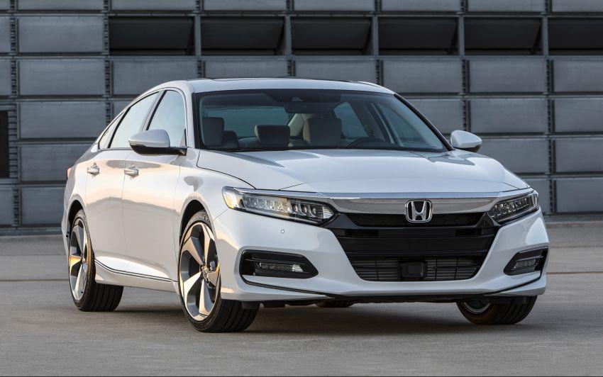 2018 Honda Accord unveiled – 192 hp 1.5 and 252 hp 2.0 turbo, 10-speed auto, standard Honda Sensing Image #683538