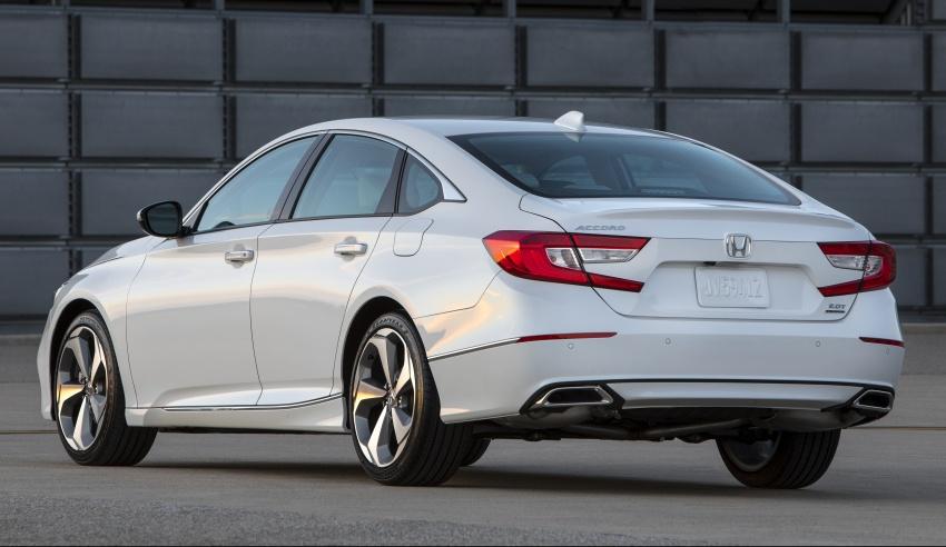 Honda Accord 2018 didedahkan – 1.5 VTEC Turbo dan 2.0 VTEC Turbo bersama transmisi auto 10-kelajuan Image #683766