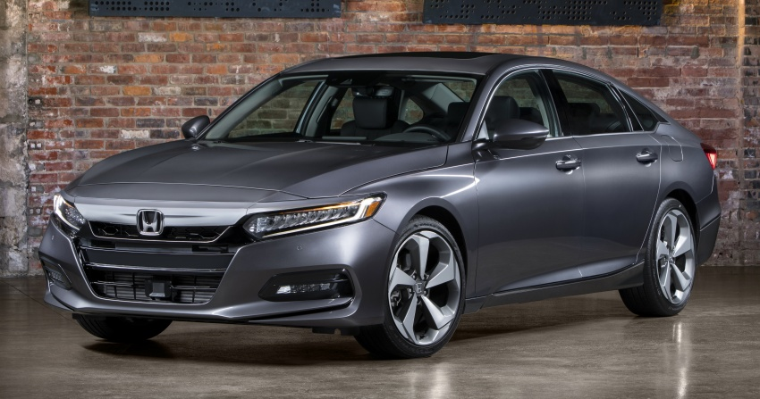 2018 honda accord unveiled 192 hp 1 5 and 252 hp 2 0. Black Bedroom Furniture Sets. Home Design Ideas