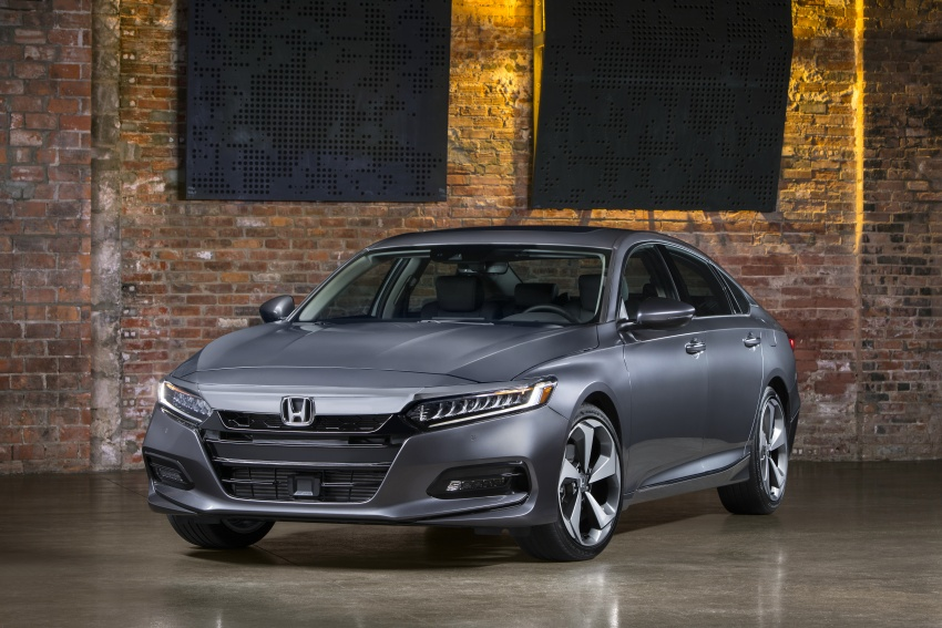 2018 Honda Accord unveiled – 192 hp 1.5 and 252 hp 2.0 turbo, 10-speed auto, standard Honda ...