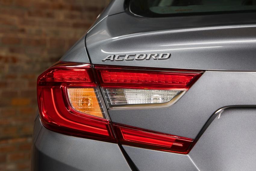 Honda Accord 2018 didedahkan – 1.5 VTEC Turbo dan 2.0 VTEC Turbo bersama transmisi auto 10-kelajuan Image #683779